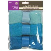 Feltworks Roving Trio Pack-Blue