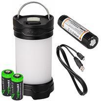 Fenix CL25R 350 lumen USB rechargeable camping lantern /