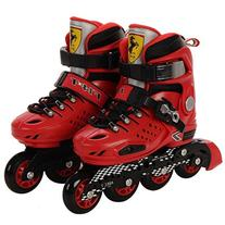 FerrariHard Boot Free Style Adjustable Inline Skate Shoes