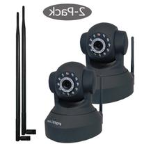Foscam FI8918W Wireless/Wired IP Camera, Pan 300° Tilt 120