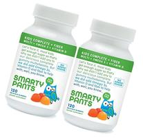 SmartyPants Kids Fiber Complete with No Sugar Added, Multi