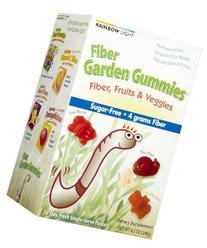 Rainbow Light Infants Children Fiber Garden Gummies Assorted