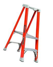 Louisville Ladder 2' Fiberglass Platform Ladder, 300 lbs