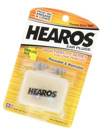 HEAROS High Fidelity Series Ear Plugs for Comfortable Long