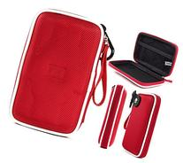 Fiesta Red EVA On-The-Go Storage Case for Fitness Tracker