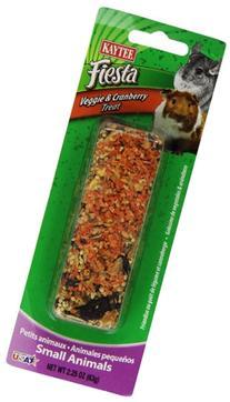 Kaytee Fiesta Veggie Cranberry Treat Stick for Small Animals