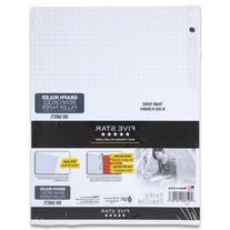 Five Star Reinforced Graph Filler Paper, Graph Ruled, Loose-