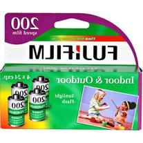 FujiFilm ISO 200 35mm Color Print Film - 24 Expos