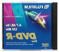 Fujifilm Media 25302947 DVD-R 4.7 GB 120 Minutes 16X Storage