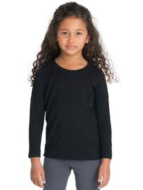 American Apparel Kids Kids' Fine Jersey Long Sleeve T Size 2