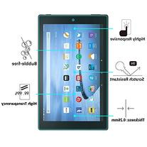 Fire HD 10 Glass Screen Protector, OMOTON Tempered Glass