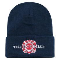 FIRE DEPT CUFF BEANIE SKULL CAP CAPS