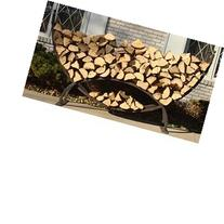 Crescent Firewood Rack W/ Cover