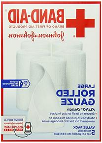 Band-Aid Brand Of First Aid Products Rolled Gauze, 4inches
