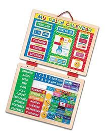 Melissa & Doug My Magnetic Daily Calendar, Seasonal &