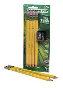 My First Ticonderoga Primary Size #2 Beginner Pencils, Pre-