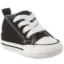 Converse Baby Boy's Chuck Taylor First Star HI  - Black/