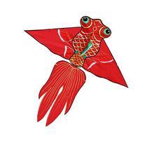 Hengda Kite Fish Kite for Girls Boys Let Fish Swim in Sky