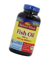 Nature Made Fish Oil 1200 Mg  200 Liquid Softgels