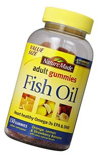 Nature Made Fish Oil Adult Gummies Nutritional Supplements,