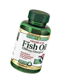 Nature's Bounty Fish Oil 1200 mg Omega-3 and Omega-6, 60