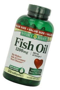 Nature's Bounty Fish Oil 1200 mg, 320 Softgels