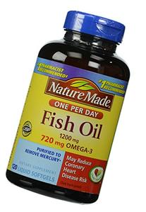 Nm Fish Oil Double Streng Size 120ct Pv Fish Oil Double
