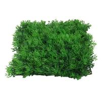 Jardin Fish Tank Square Artificial Grass Lawn, 10-Inch by 10