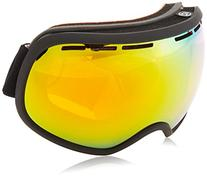 VonZipper FISHBOWL Snow Goggles- Black Satin/ Fire Chrome