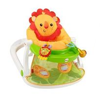 Fisher Price Giraffe Sit Me Up Floor Seat With Snack Tray
