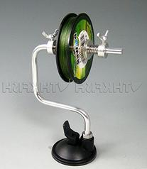 thkfish Fishing Spooler, 1Pcs Fishing Line Spooler With suction cup Fishing Reel Spooler Fishing Tackle Spooler System