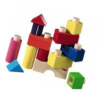 HABA Fit Together Wooden Building Blocks 13 Piece Set