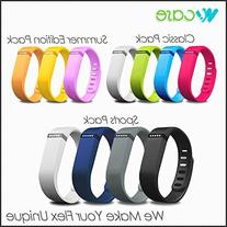 WoCase Fitbit Flex Wrstband Classic Pack of 4 Accessory