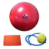 Clever Yoga Fitness Ball With FREE Exercise Hand Towel and