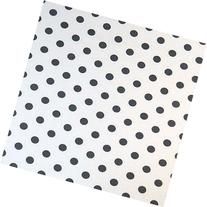 SheetWorld Fitted Cradle Sheet - Grey Polka Dots - Made In
