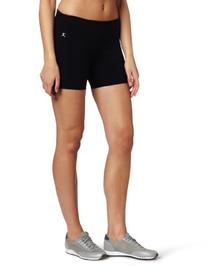 Danskin Women's Five Inch Bike Short, Black, Small