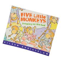 Five Little Monkeys Jumping On The Bed 32 pg. Softcover Book