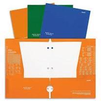 Five Star Folder, 4-pocket,blue