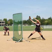 Jugs Sports Fixed-Frame Softball Screen