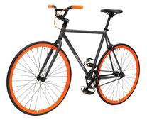 Fixed-Gear Single-Speed Urban Road Bike, Medium
