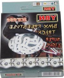 Fixie/Track Bike Half Link Chain 102L YBN MK926 White