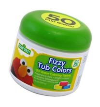 Sesame Street Fizzy Tub Colors 2.5 oz
