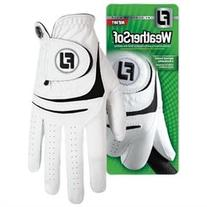 FJ Men's WeatherSof Gloves 2-Pack -Left Hand-White-Small