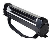 SE FL999-6W Jumbo 2-IN-1 Black Light & LED Flashlight, Black