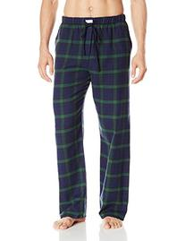 Ben Sherman Men's Flannel Classic Plaid Lounge Pant, Green,
