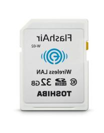 Toshiba Flash Air II Wireless 32GB SDHC Memory Card