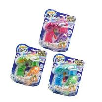 Bubble Blitz Bubble Flash Blaster See Thru Light Up Bubble