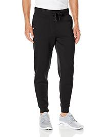 Akademiks Men's Flatbush Ribbed Sweatpants, Black, X-Large