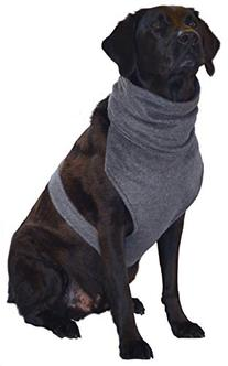 The Doggy Dickey Fleece Neck and Chest Warmer for Large Dogs