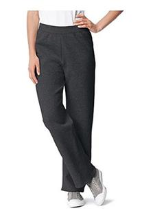 Hanes Womens Fleece Pant Open Leg Sweatpants S - Xl